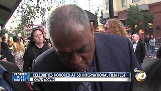 Celebrities honored at San Diego International Film Festival