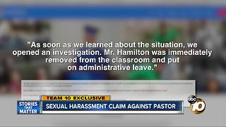 Sexual harassment claim against San Diego pastor - Video
