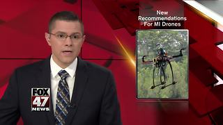 Michigan task force suggests drone use limits to lawmakers - Video