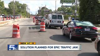 Solution planned for epic traffic jam - Video