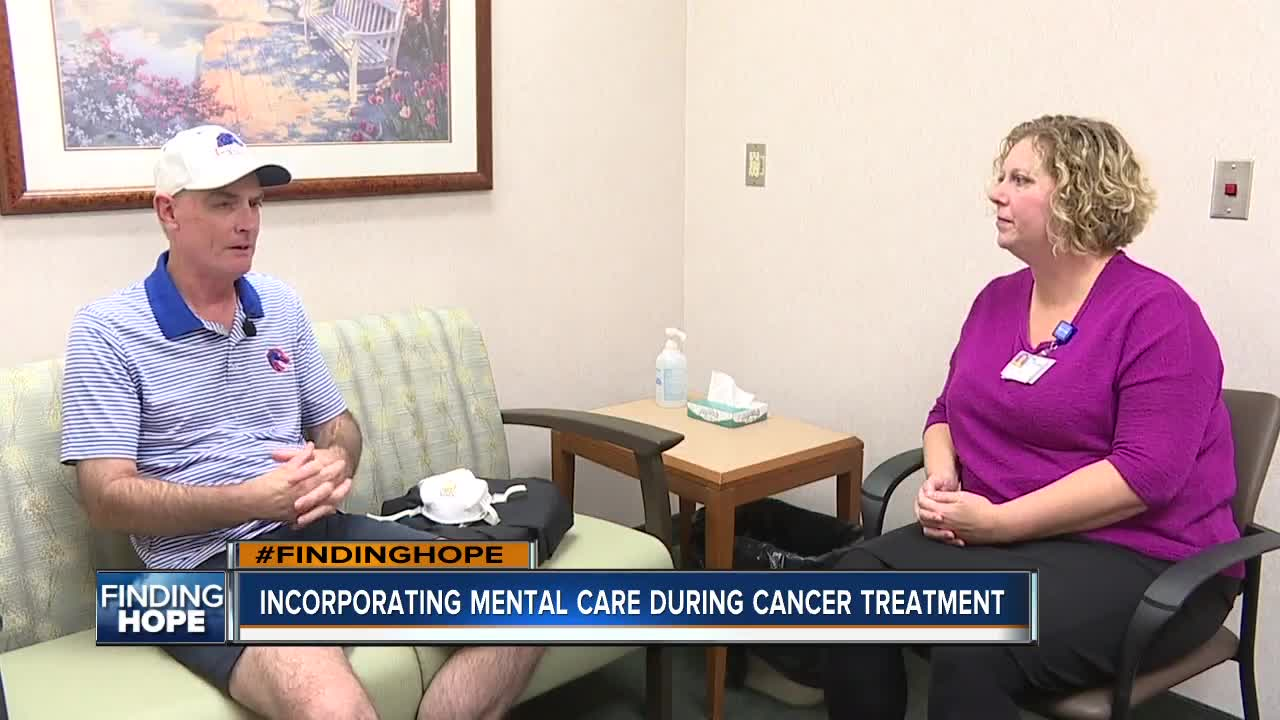 Finding Hope: Mental health care and cancer care
