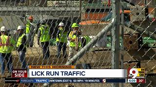 Greenway construction brings street closures, traffic issues - Video