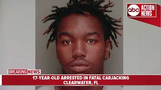 Fatal Clearwater carjacking, 17-year-old arrested, Police update investigation - Video