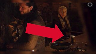 Game of Thrones Accidentally Leaves Starbucks Coffee Cup on Table