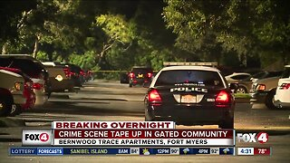 Police Investigation at Fort Myers Apartment complex
