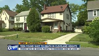 15-year-old shot to death in Cleveland Heights