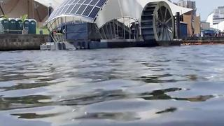 This Wheel Is Collecting Literal Tons Of Trash In Baltimore - Video