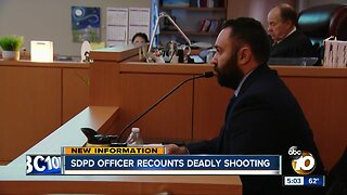 SDPD officer recounts deadly shooting of partner