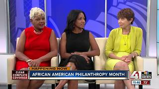 Interview: African American Philanthropy Month - Video
