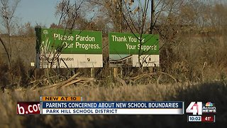 Parent concerned about new school boundaries - Video