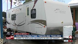 When are FEMA trailers heading to Collier County? - Video