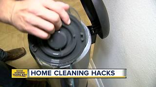 Household cleaning hacks to get rid of carpet stains and smells - Video
