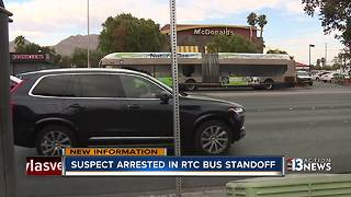 Police release arrest report for RTC bus shooter - Video