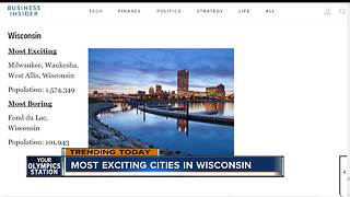 Wisconsin's most exciting and most boring cities, according to Business Insider - Video