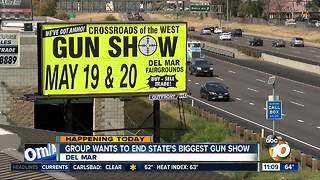 Group wants to end state's biggest gun show