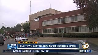 Old Town gets new park and outdoor space - Video