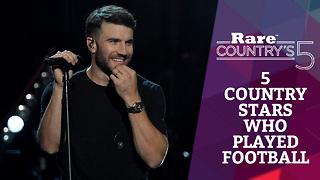 Five Country Stars Who Played Football | Rare Country's 5