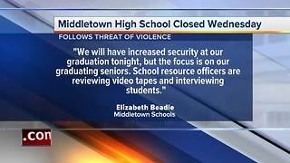 Threat closes Middletown High School Wednesday - Video