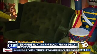 Get a preview of Christmas during Black Friday Shopping