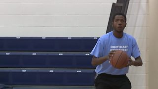 CPD build relationships with local youth through basketball - Video