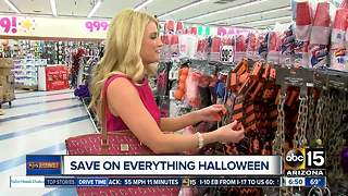 Save big on Halloween deals at 99 cent store - Video