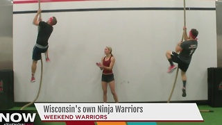 University of Wisconsin trio to compete on 'Team Ninja Warrior: College Madness' - Video