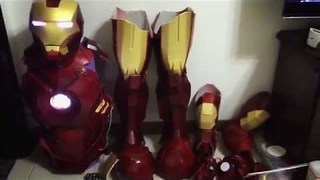 This Guy Created an Unbelievable Iron Man Costume - Video