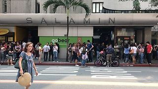 Manila Offices Evacuated After Magnitude 6.2 Quake Rattles Luzon - Video