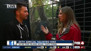 Cape Coral Annual Haunted Hike - Video