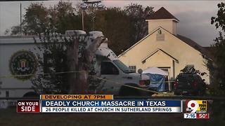 Deadly church massacre in Texas - Video