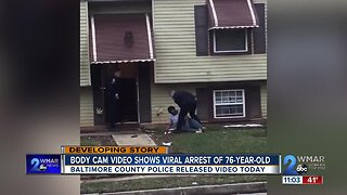 Body cam video shows viral arrest of 76-year-old woman