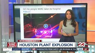 Houston Arkema Plant Explosion - Video