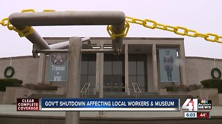 Harry Truman Library & Museum closed amid government shutdown - Video