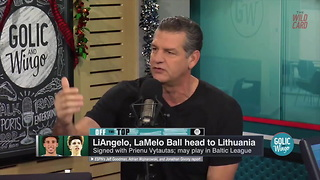 Mike Golic - What In The Hell Has Lavar Ball Gotten His Kids Into? - Video