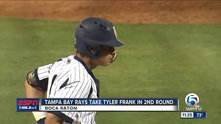FAU's Tyler Frank drafted by Tampa Bay Rays