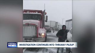 Elba man killed in Thruway pileup - Video