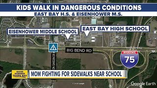 East Bay H.S. mom posts video about unsafe roads