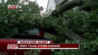 West Tulsa storm damage