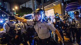Hong Kong police fire tear gas protests roil city