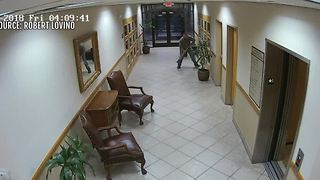 Surveillance video catches salon burglary - Video