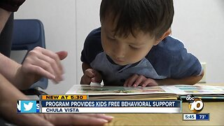 Chula Vista program provides kids free behavioral support