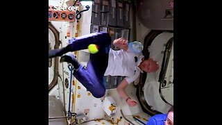 How Do Astronauts Play Tennis on the ISS?