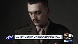 Arizona family searches for missing Camp Pendleton Marine