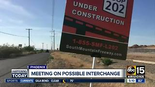 Another South Mountain Freeway interchange change? - Video