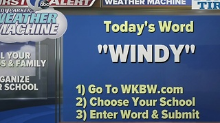 Andy Parker's Weather Machine Word 01-11-17 - Video