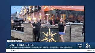 Earth Wood Fire says We're Open Baltimore!