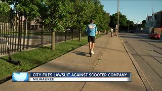 Milwaukee files lawsuit against electric scooter company