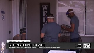 Group working to get Arizonans to vote