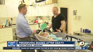 Preserving bodies after death - Video