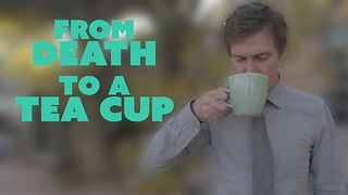You'll never guess what this cup is made from? - Video